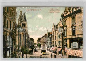 AK / Ansichtskarte Heilbronn Neckar Moltkestrasse Kaiserstrasse  Kat. Heilbronn