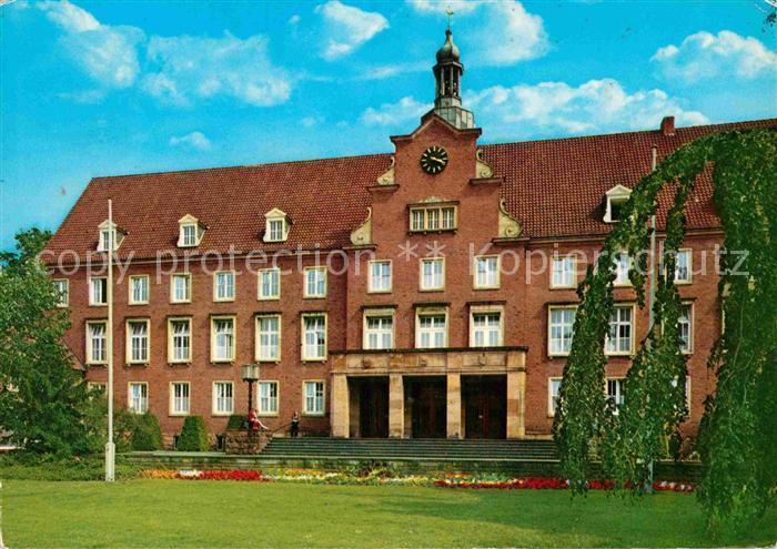 AK / Ansichtskarte Nordhorn Rathaus Kat. Nordhorn