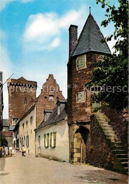 AK / Ansichtskarte Zons Alte Haeuser Rheinstrasse  Kat. Dormagen