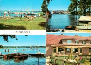 AK / Ansichtskarte Diensdorf Radlow am Scharmuetzelsee  Kat. Diensdorf Radlow