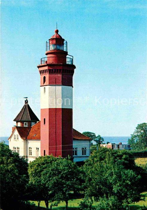 AK / Ansichtskarte Dahme Ostseebad Leuchtturm Dameshoeved Kat. Dahme 0