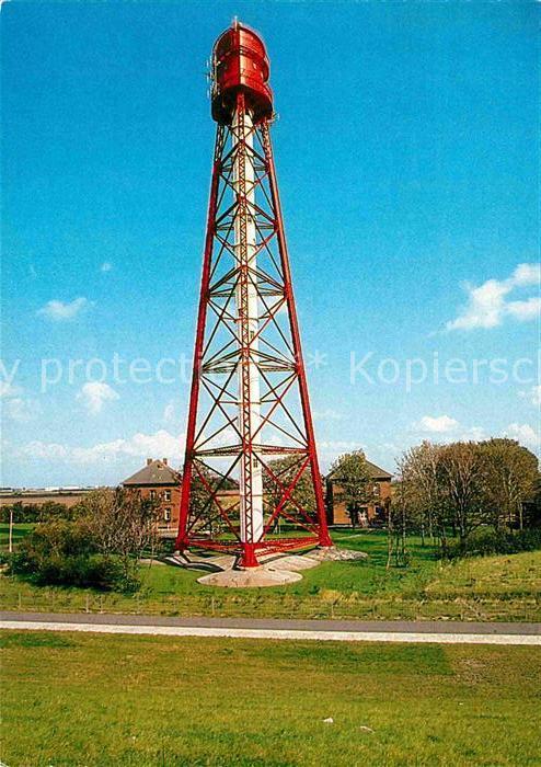 AK / Ansichtskarte Leuchtturm Lighthouse Campener Leuchtturm Krummhoern  Kat. Gebaeude