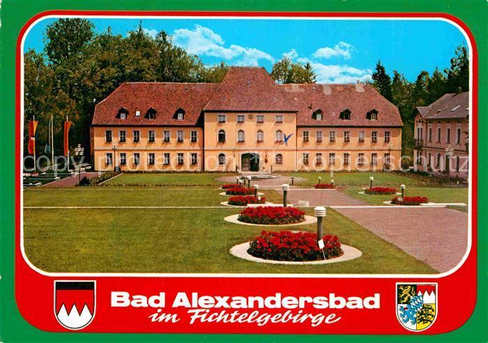 AK / Ansichtskarte Bad Alexandersbad Schloss Fichtelgebirge Kat. Bad Alexandersbad
