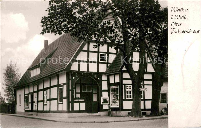 AK / Ansichtskarte Werther Westfalen altes Fachwerkhaus Kat. Werther (Westf.)