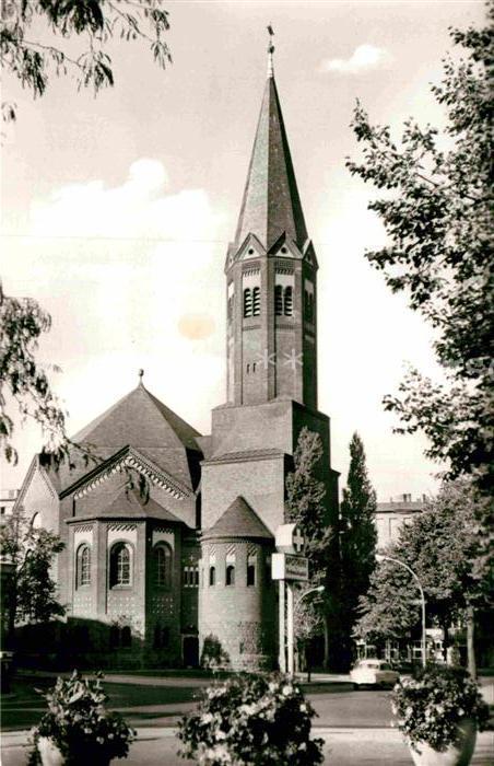 AK / Ansichtskarte Wilmersdorf Berlin Hochmeisterkirche Kat. Werneuchen