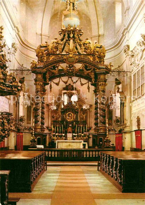 AK / Ansichtskarte Bohosudov Interier poutniho kostela Bol. Matky Bozi Kat. Mariaschein