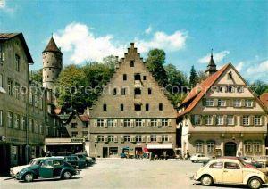 AK / Ansichtskarte Biberach Riss Holzmarkt  Kat. Biberach an der Riss