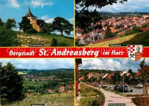 AK / Ansichtskarte St Andreasberg Harz Glockenberg Schuetzenstrasse  Kat. Sankt Andreasberg