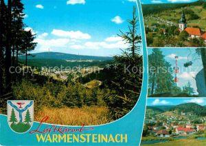 AK / Ansichtskarte Warmensteinach Ochsenkopf Schneeberg  Kat. Warmensteinach Fichtelgebirge