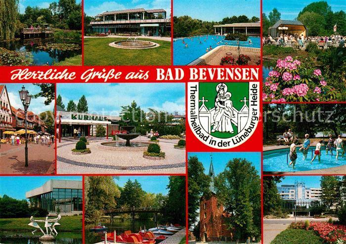 AK / Ansichtskarte Bad Bevensen Kurhaus Thermalbad  Kat. Bad Bevensen