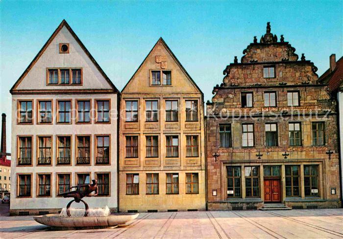 AK / Ansichtskarte Bielefeld Am Alten Markt Kat. Bielefeld