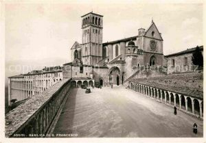AK / Ansichtskarte Assisi Umbria Basilica di S. Francesco  Kat. Assisi