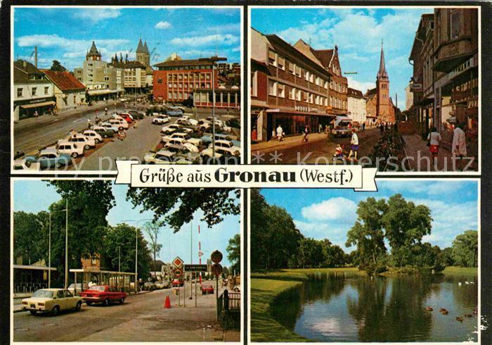 AK / Ansichtskarte Gronau Westfalen  Kat. Gronau (Westf.)