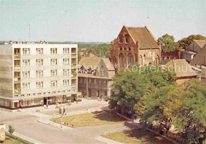 AK / Ansichtskarte Swidwin Fragment miasta Kat. Schivelbein Pommern