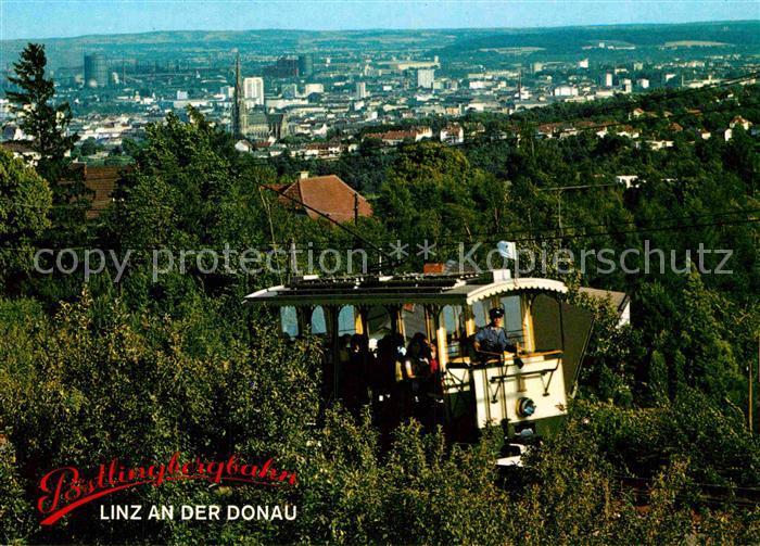 AK / Ansichtskarte Strassenbahn Poestlingbergbahn Linz an der Donau  Kat. Strassenbahn