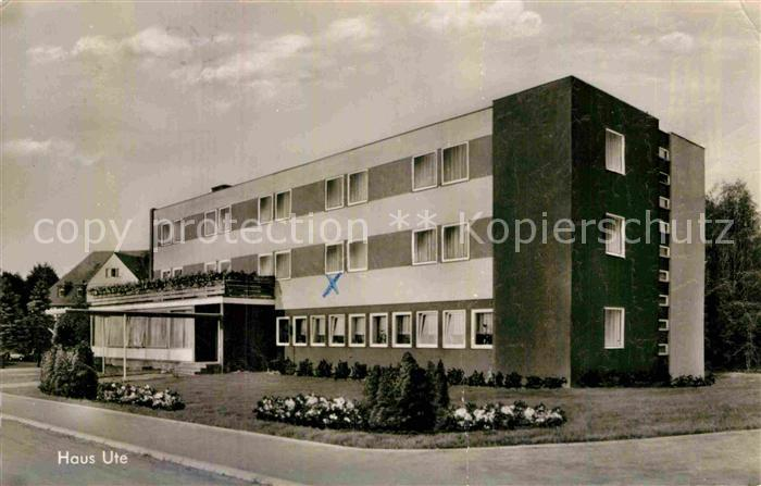 AK Ansichtskarte Ortenberg Selters Sanatorium