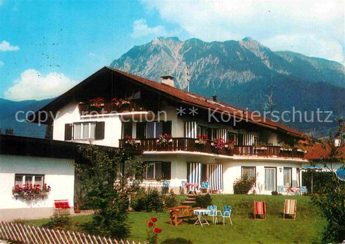 AK / Ansichtskarte Oberstdorf Hotel Garni Klein Kat. Oberstdorf