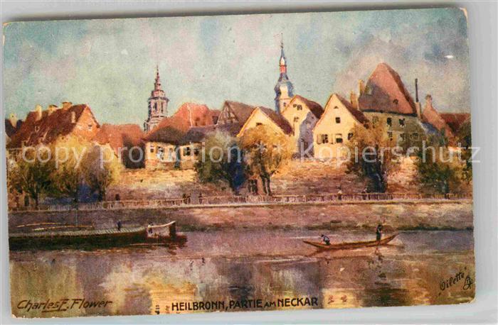 AK / Ansichtskarte Heilbronn Neckar Partie am Neckar Kat. Heilbronn 0