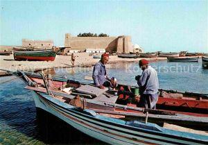 AK / Ansichtskarte Hammamet Boote Fischer Kat. Tunesien