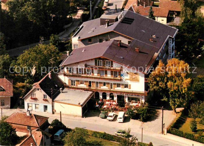 AK / Ansichtskarte Eichgraben Cafe Restaurant Wienerwald Fliegeraufnahme Kat. Eichgraben