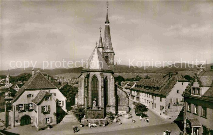 AK / Ansichtskarte Deidesheim Kirche Kat. Deidesheim