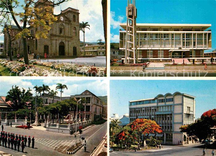 AK / Ansichtskarte Port Louis Cathedrale Hotel du Gouvernement  Kat. Port Louis
