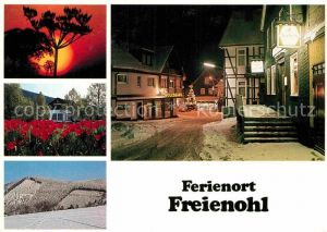 AK / Ansichtskarte Freienohl Sauerland Ortspartie im Winter Kat. Meschede