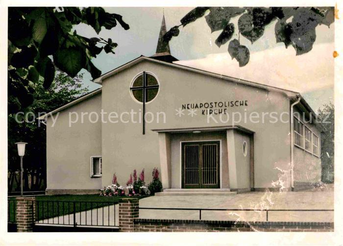 AK / Ansichtskarte Zeven Neuapostolische Kirche Kat. Zeven