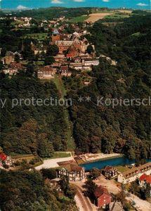 AK / Ansichtskarte Burg Wupper Schloss Burg Seilbahn Unterburg Fliegeraufnahme Kat. Solingen