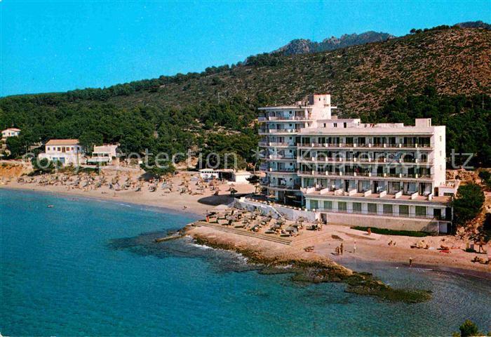 AK / Ansichtskarte San Telmo Andraitx Hotel Strand Fliegeraufnahme Kat. Spanien