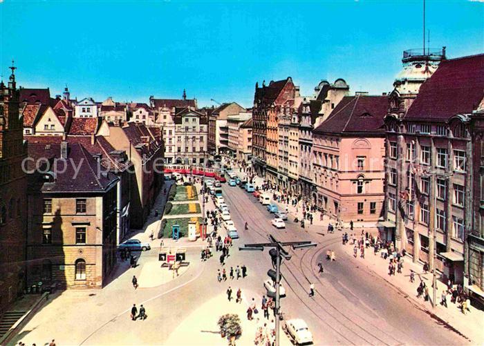 AK / Ansichtskarte Wroclaw Rynek Kat. Wroclaw Breslau