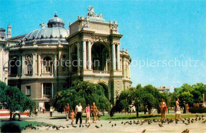 AK / Ansichtskarte Odessa Ukraine Theater