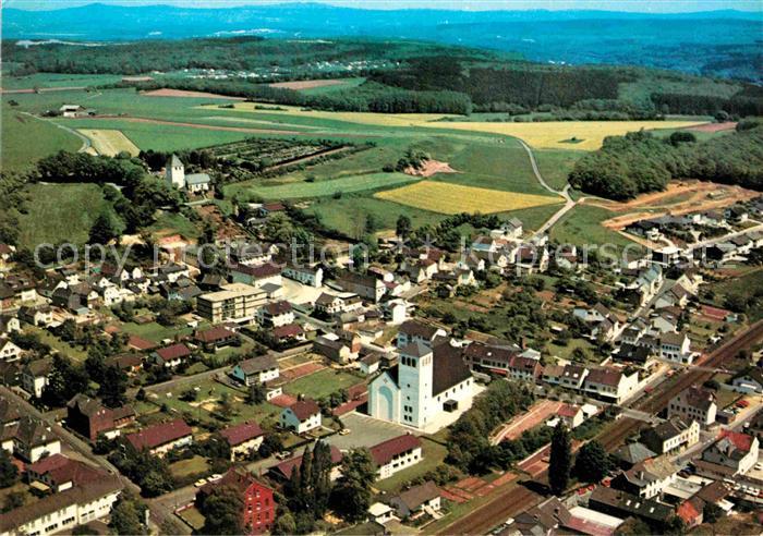 AK / Ansichtskarte Mechernich Fliegeraufnahme Kat. Mechernich