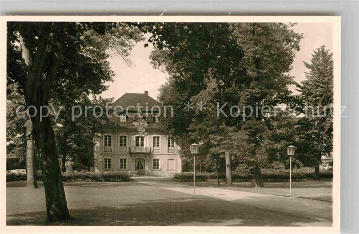 AK / Ansichtskarte Schwaebisch Gmuend Stadtgarten Kat. Schwaebisch Gmuend