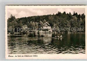 AK / Ansichtskarte Ebnisee Hotel Ebnisee im Welzheimer Wald