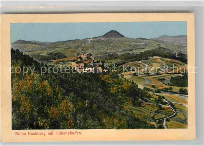 AK / Ansichtskarte Hohenstaufen Ruine Rechberg Kat. Goeppingen