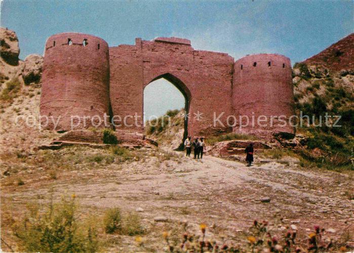AK / Ansichtskarte Duschanbe Gissarfestung Tor  Kat. Tadschikistan