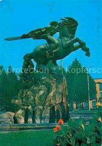 AK / Ansichtskarte Jerewan Dawid Sasunskiy Denkmal