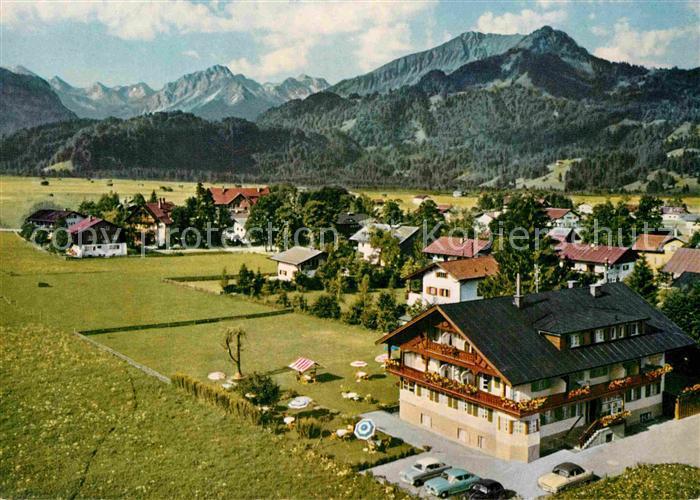 AK / Ansichtskarte Oberstdorf Hotel Garni Kappelerhaus Kat. Oberstdorf