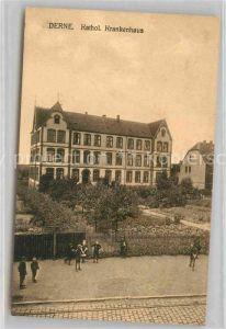 AK / Ansichtskarte Derne Katholisches Krankenhaus Kat. Dortmund