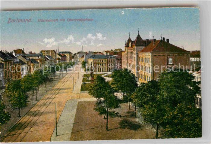 AK / Ansichtskarte Dortmund Hiltropwall Oberrealschule Kat. Dortmund