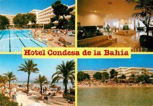 AK / Ansichtskarte Puerto de Alcudia Hotel Condesa de la Bahia Swimming Pool Strand Kat. Alcudia Mallorca