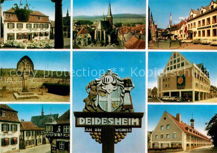 AK / Ansichtskarte Deidesheim Stadtansichten  Kat. Deidesheim