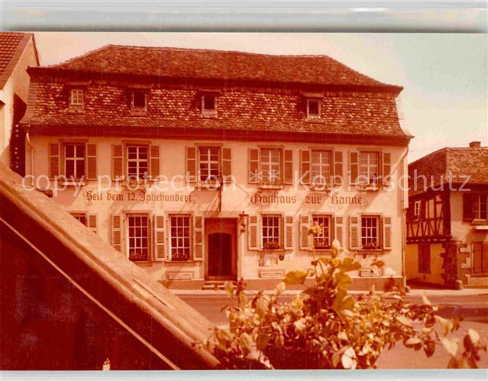 AK / Ansichtskarte Deidesheim Gasthaus zur Kanne Kat. Deidesheim