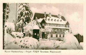 AK / Ansichtskarte Oberbaerenburg Baerenburg FDGB Ferienheim Friedenswacht im Winter