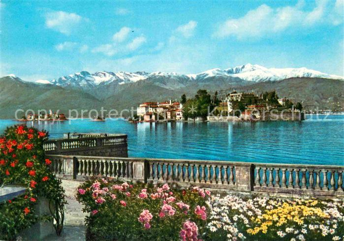 AK / Ansichtskarte Isola Bella ed Isola Superiore Alpi Kat. Lago Maggiore