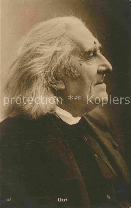 AK / Ansichtskarte Liszt Franz Komponist  Kat. Musik