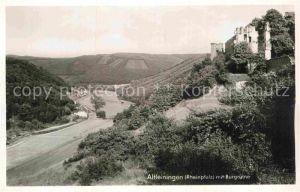 AK / Ansichtskarte Altleiningen Panorama mit Burgruine Kat. Altleiningen