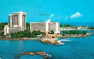 AK / Ansichtskarte San Juan Puerto Rico Panorama Caribe Hilton Hotel Kat. San Juan