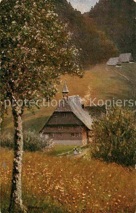 AK / Ansichtskarte Harbers E.  Kat. Schwarzwaldkuenstler